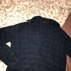 Brandy Melville Navy Flannel